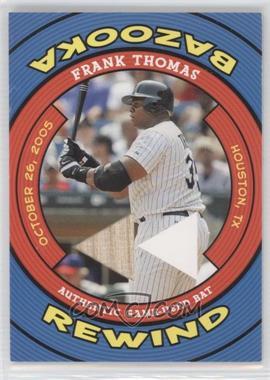 2006 Topps Bazooka Rewind #BR-FT - Frank Thomas
