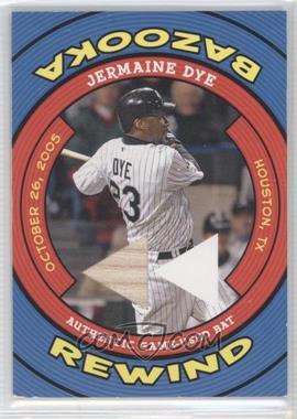 2006 Topps Bazooka Rewind #BR-JD - Jermaine Dye