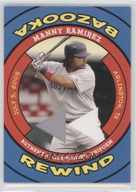 2006 Topps Bazooka Rewind #BR-MR - Manny Ramirez