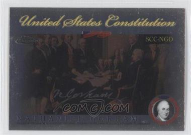 2006 Topps Chrome Signers of the United States Constitution #SCC-NGO - [Missing]