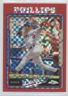 2006 Topps Chrome Update & Highlights Red X-Fractor #UH68 - Jason Phillips /65