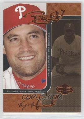 2006 Topps Co-Signers Changing Faces Gold #86-A - Pat Burrell, Ryan Howard /115