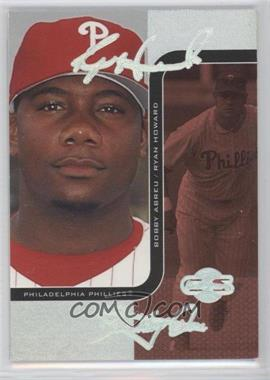 2006 Topps Co-Signers Changing Faces HyperSilver Red #21-C - Ryan Howard, Bobby Abreu /25