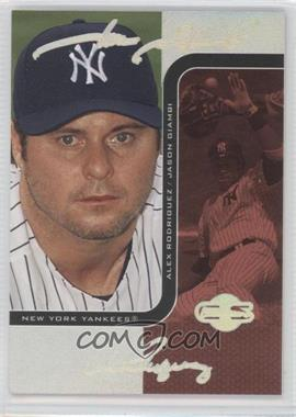 2006 Topps Co-Signers Changing Faces HyperSilver Red #25-A - Jason Giambi, Alex Rodriguez /25