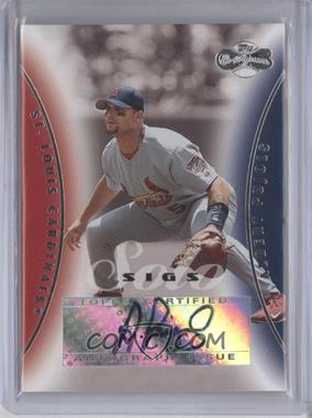 2006 Topps Co-Signers Solo Sigs #SS-AP - Albert Pujols