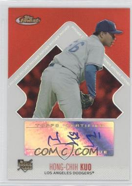 2006 Topps Finest - [Base] - Refractor #144 - Rookie Autograph - Hong-Chih Kuo /399