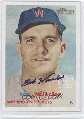 2006 Topps Heritage Real One Autographs #ROA-BW - Bob Wiesler