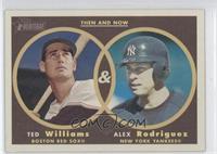 Alex Rodriguez, Ted Williams
