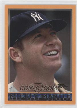 2006 Topps Mickey Mantle Collection #MM1998 - Mickey Mantle