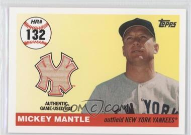 2006 Topps Multi-Year Issue Mickey Mantle Home Run History Relic #MHRR132 - Mickey Mantle /7