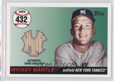 2006 Topps Multi-Year Issue Mickey Mantle Home Run History Relic #MHRR432 - Mickey Mantle /7