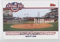 Philadelphia Phillies Team, St. Louis Cardinals Team