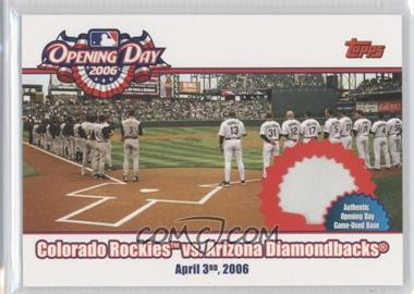 2006 Topps Opening Day [???] #ODR-RD - [Missing]