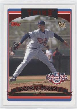 2006 Topps Opening Day Red Foil #148 - Francisco Liriano /2006