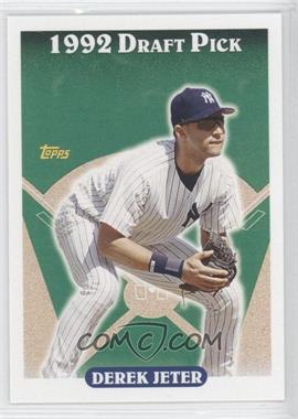 2006 Topps Rookie of the Week - Card Shop Promotion [Base] #18 - Derek Jeter