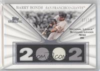 Barry Bonds /10