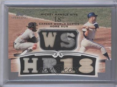 2006 Topps Sterling [???] #RM-MM-WSHR18 - Mickey Mantle /1
