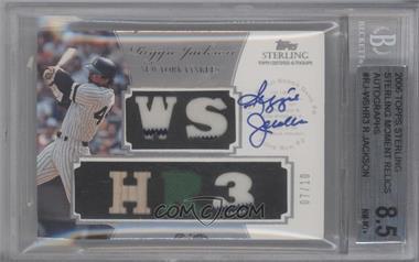 2006 Topps Sterling [???] #TG-3 - Reggie Jackson /10 [BGS8.5]
