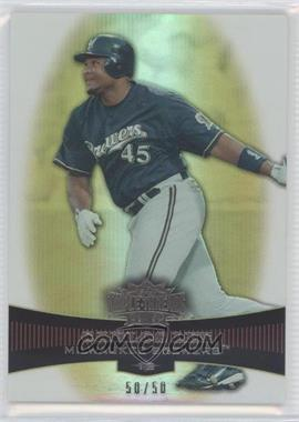 2006 Topps Triple Threads Gold #74 - Carlos Lee /50