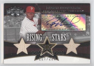 2006 Topps Triple Threads #108 - Ryan Howard /225