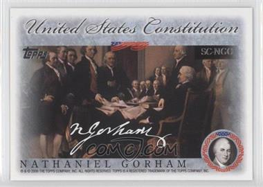 2006 Topps United States Constitution Signers #SC-NGO - Nate Gold