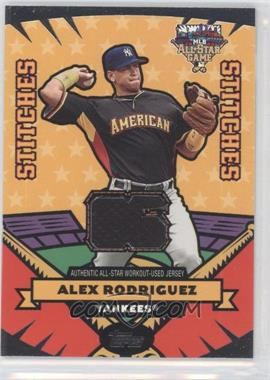 2006 Topps Updates & Highlights - All-Star Stitches #AS-AR - Alex Rodriguez
