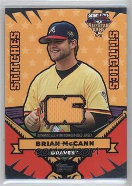2006 Topps Updates & Highlights - All-Star Stitches #AS-BM - Brian McCann