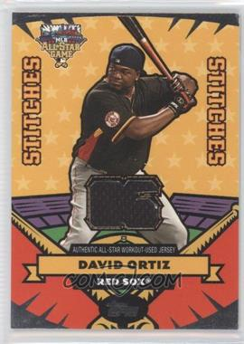 2006 Topps Updates & Highlights - All-Star Stitches #AS-DO - David Ortiz