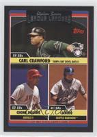Carl Crawford, Chone Figgins, Ichiro Suzuki /55