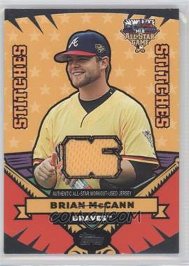 2006 Topps Updates & Highlights All-Star Stitches #AS-BM - Brian McCann