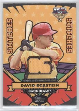 2006 Topps Updates & Highlights All-Star Stitches #AS-DE - David Eckstein