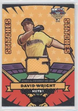 2006 Topps Updates & Highlights All-Star Stitches #AS-DW - David Wright