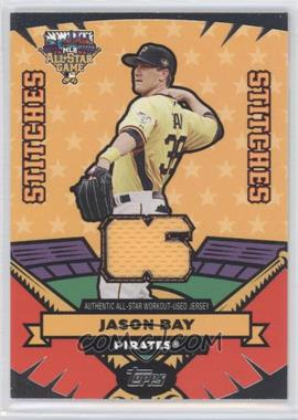 2006 Topps Updates & Highlights All-Star Stitches #AS-JB - Jason Bay