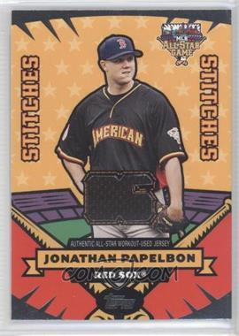 2006 Topps Updates & Highlights All-Star Stitches #AS-JP - Jonathan Papelbon