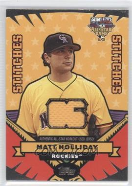 2006 Topps Updates & Highlights All-Star Stitches #AS-MH - Matt Holliday