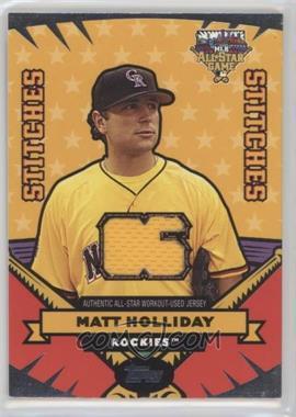 2006 Topps Updates & Highlights All-Star Stitches #AS-MH - Matt Holliday