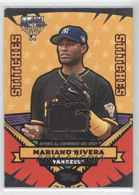 2006 Topps Updates & Highlights All-Star Stitches #AS-MR - Mariano Rivera