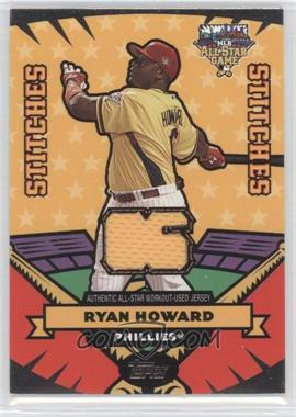 2006 Topps Updates & Highlights All-Star Stitches #AS-RJH - Ryan Howard