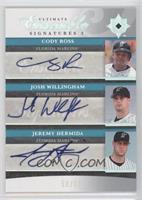 Cody Ross, Josh Willingham, Jeremy Hermida /50