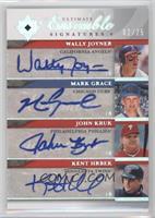 Wally Joyner, Mark Grace, John Kruk, Kent Hrbek /25