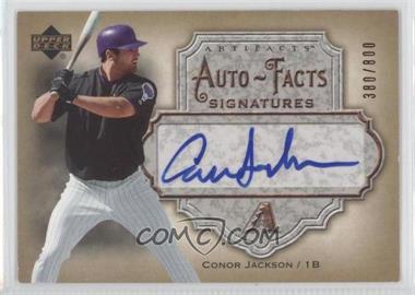2006 Upper Deck Artifacts - Autofacts Signatures #AF-CJ - Conor Jackson /800