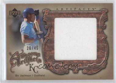 2006 Upper Deck Artifacts [???] #AA-BO - Bo Jackson /45