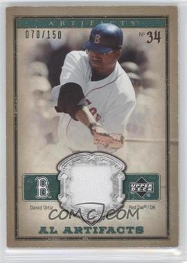 2006 Upper Deck Artifacts [???] #AL-DO - David Ortiz /150