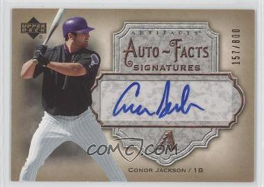2006 Upper Deck Artifacts Autofacts Signatures #AF-CJ - Conor Jackson /800