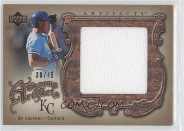 2006 Upper Deck Artifacts Awesome Artifacts #AA-BO - Bo Jackson /45