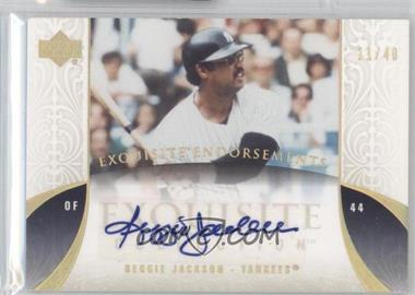 2006 Upper Deck Exquisite Collection [???] #EN-RJ - Reggie Jackson /40