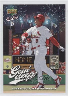 2006 Upper Deck First Pitch Goin' Deep #GD-2 - Albert Pujols