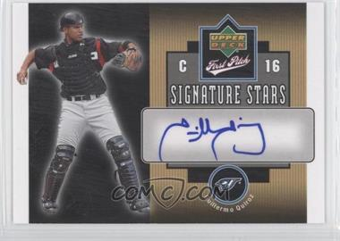 2006 Upper Deck First Pitch Signature Stars #SS-GQ - Guillermo Quiroz