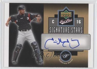 2006 Upper Deck First Pitch Signature Stars #SS-GQ - Guillermo Quiroz