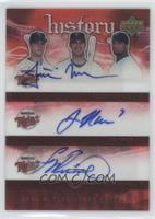 Justin Morneau, Joe Mauer, Francisco Liriano